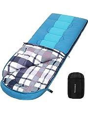 16d7457d1f SONGMICS Large Sac de Couchage avec Sac de Compression, Température de  Confort:5-