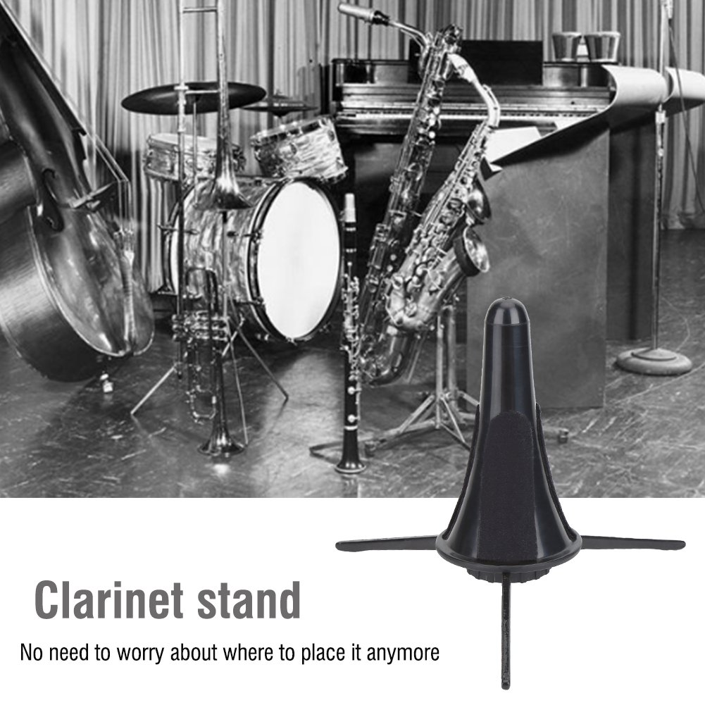 Clarinet Stand Holder Portable Folding Clarinet Tripod Stand Holder for Clarinet Flute