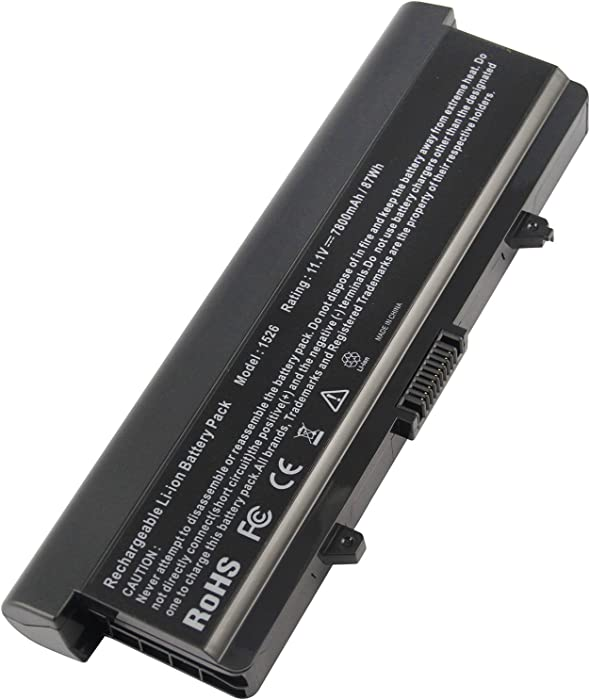 Fancy Buying GP952 - New Dell OEM Generic Inspiron 1525 1526 1545 9-Cell Battery Li-Ion 87WH - GP952
