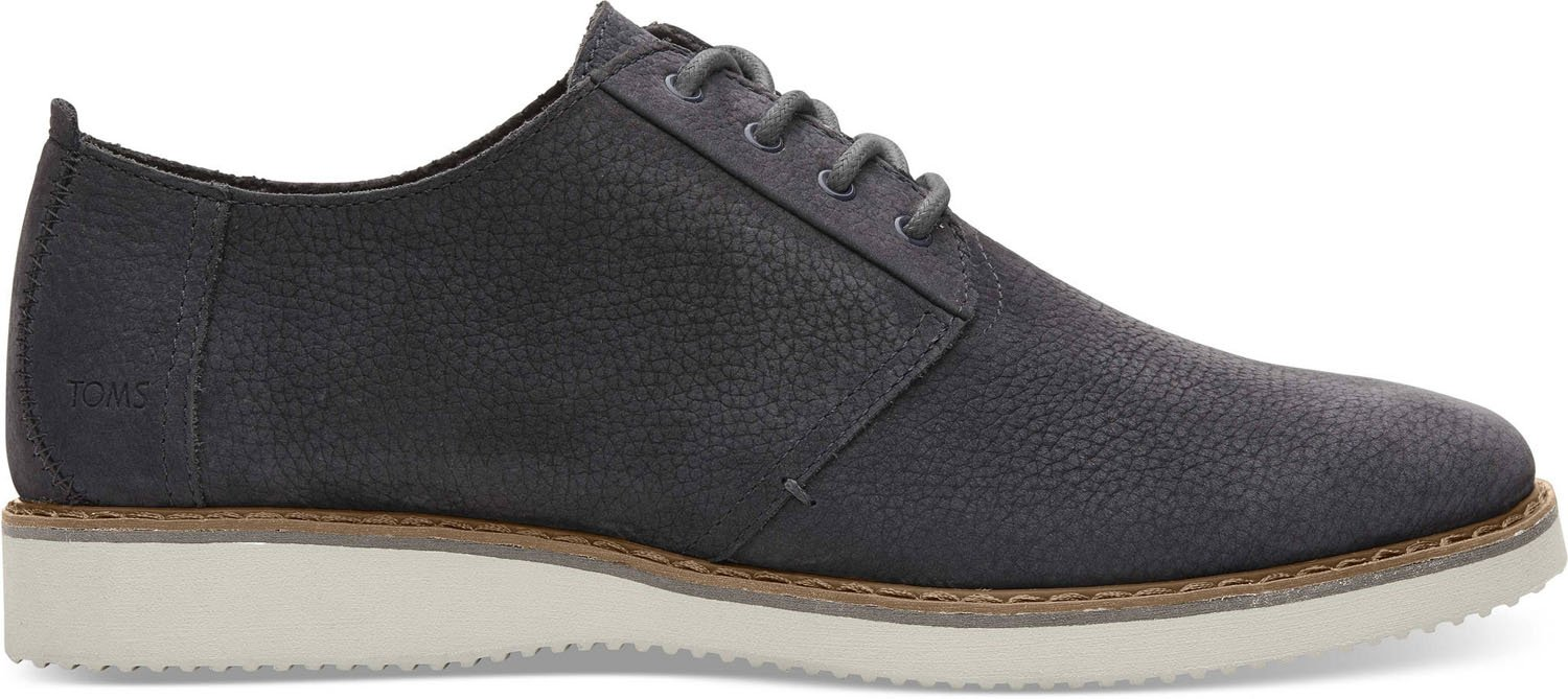TOMS Men's Preston Forged Iron Grey Nubuck 14 D US by TOMS (Image #1)