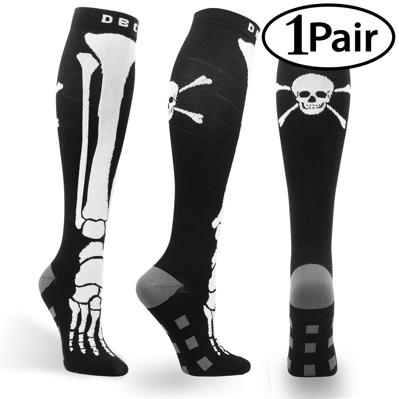 d9128e2b9c7 Amazon.com  Compression Socks for Men   Women 20-30 mmHg Medical Graduated Compression  Stockings for Running Nurses Shin Splints Diabetic Flight Travel ...