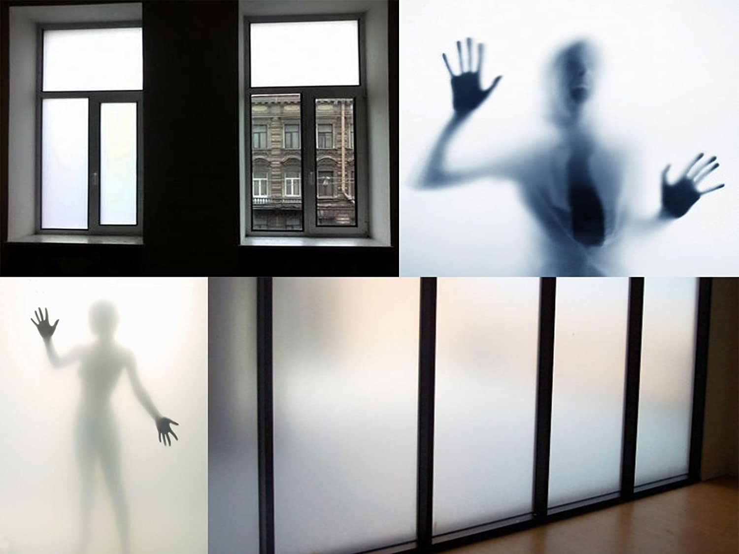 100 cm x 120 cm frosted glass foil, frosted window foil Metzler-Folien