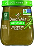 Beech-Nut Stage 1 Baby Food, Green Beans, 4 Ounce (Pack of 10)