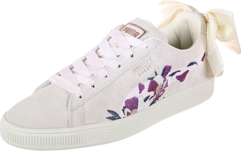 Puma Suede Bow Flowery W Shoes Mauve