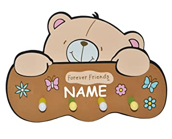 Unbekannt 3 D Garderobe Teddy Bar Forever Friends Incl Namen