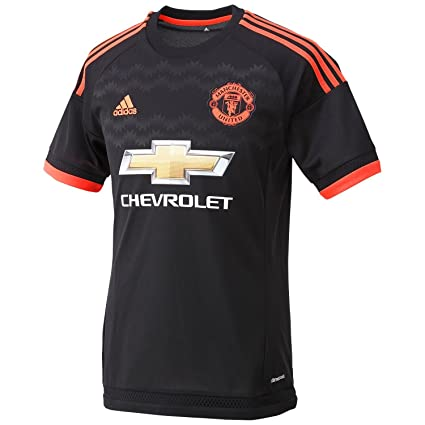 422f041a88 Amazon.com   adidas Manchester United FC 3rd Jersey-Black   Sports ...