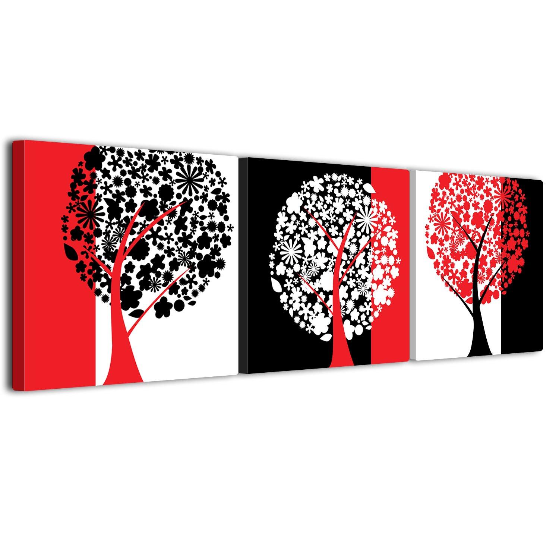 【リブラLibra】 3パネルセット アートパネル インテリア 壁掛け絵画 ポスター キャンバス 絵画(額付きの完成品) (50*50cm*3pcs, LP1534) B075KN9LZD 50*50cm*3pcs|LP1534 LP1534 50*50cm*3pcs