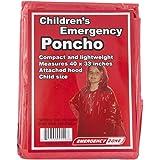 Children's Emergency Poncho, Weather Protection, Rain Gear, Emergency Zone