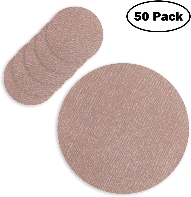 3 Hook and Loop Sanding Discs Choose from 80-1500 Grit Norton A275 Sandpaper Pack of 50