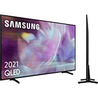 "Samsung QLED 4K 2021 50Q60A - Smart TV de 50"" con Resolución 4K UHD, Procesador 4K, Quantum HDR10+, Motion Xcelerator…"