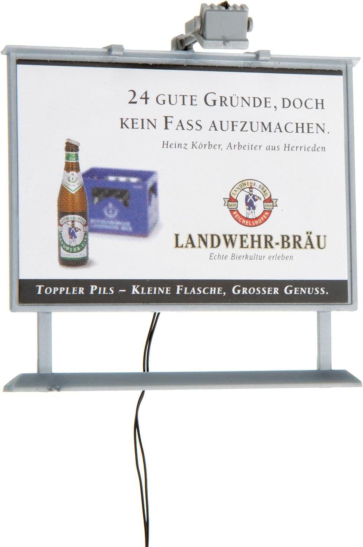 /H0/pubblicitario lavagna con illuminazione a LED Viessmann 6336/