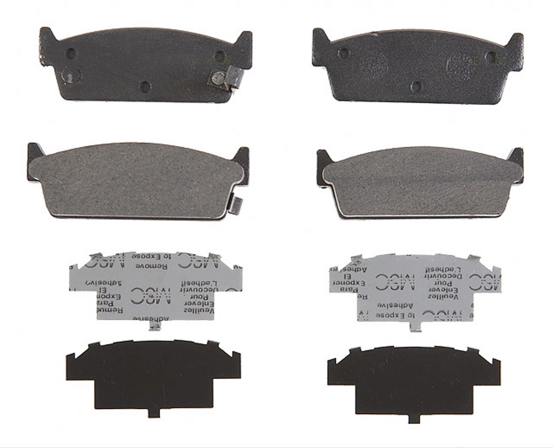 ACDelco 17D479M Professional Semi-Metallic Rear Disc Brake Pad Set