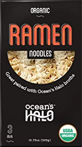 Ocean's Halo Organic Ramen Noodles, 8.4 OZ, 3 Pack