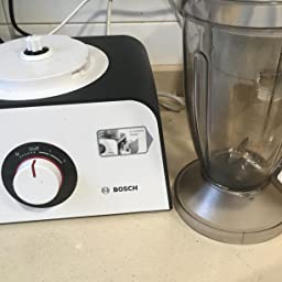 Bosch MCM4 Styline MCM4100 - Robot de cocina con accesorios, 800 W, color blanco: Amazon.es: Hogar