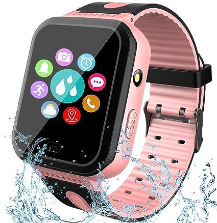 GBD Kids Smartwatch Impermeable GPS Tracker Watch Phone con SOS ...