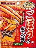 ユーハ Sozaiのまんま ごぼうのまんまピリ辛醤油 20g×6袋