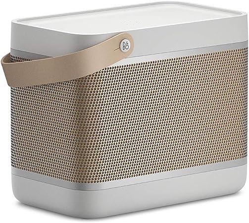 Bang Olufsen Beolit 20 Leistungsfähiger Tragbarer Bluetooth Lautsprecher Grey Mist Audio Hifi