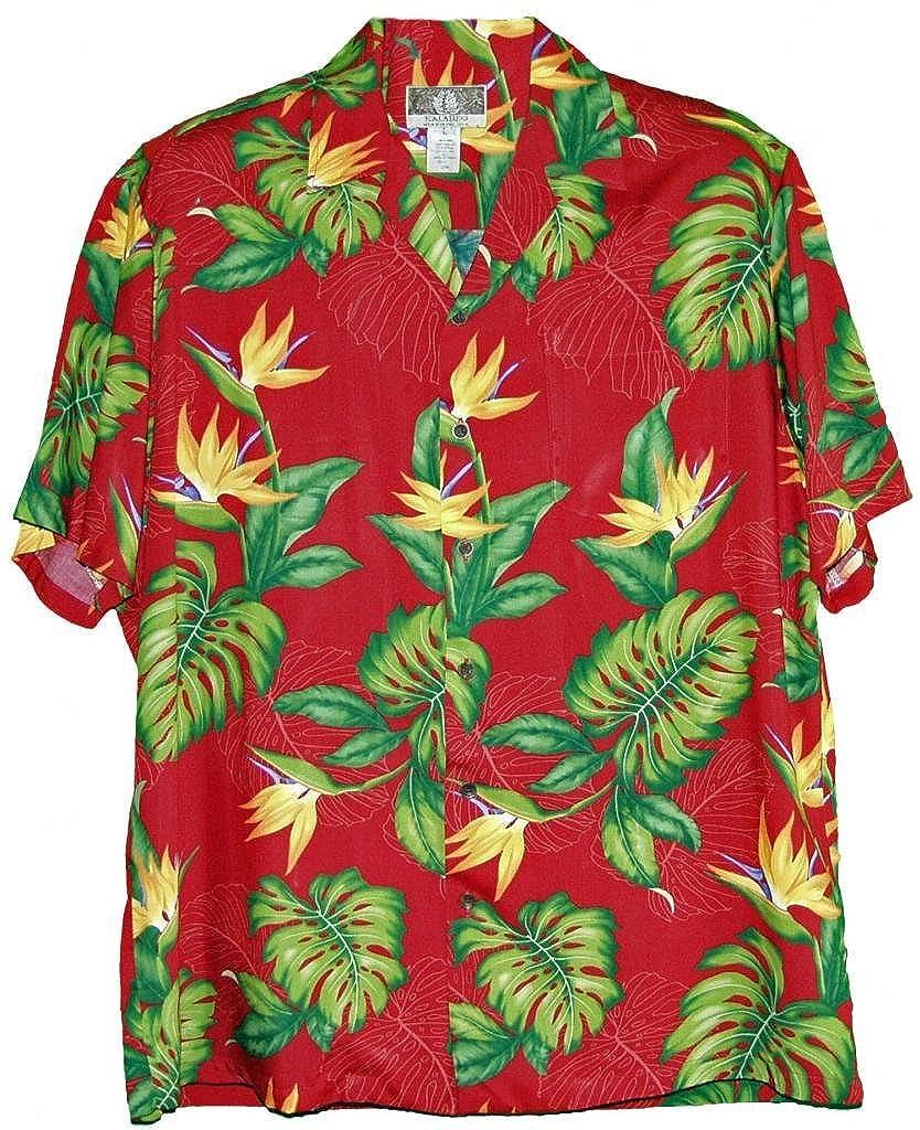 de83ec7a77 RJC Brand Island Bird of Paradise Men's Hawaiian Shirt