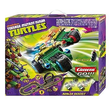 Carrera 20062325 - Go Circuito Tortugas Ninja: Amazon.es: Juguetes y juegos