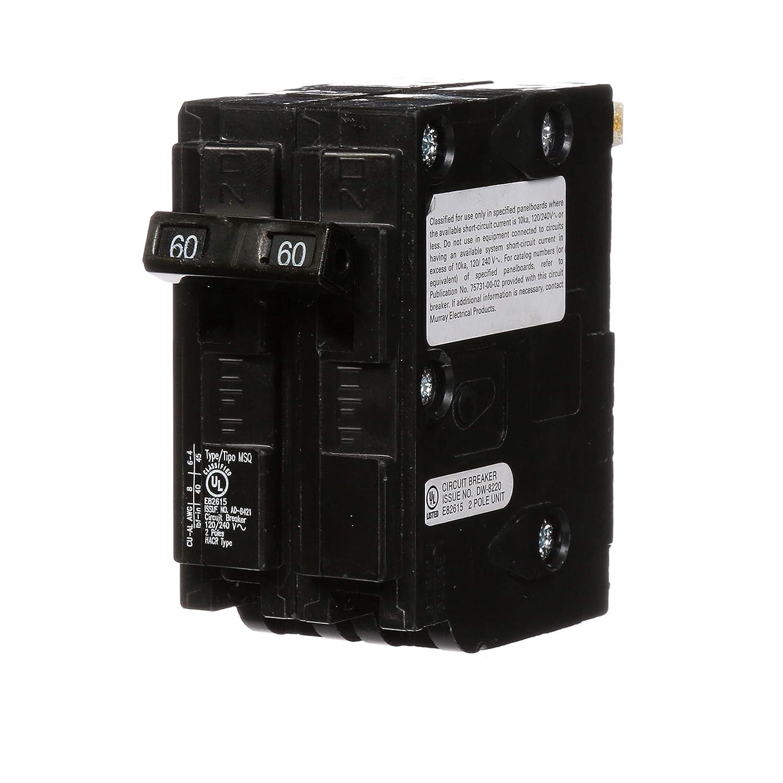 Murray MQ260 QO Replacement 60-Amp Double Pole Circuit Breaker Siemens -HI