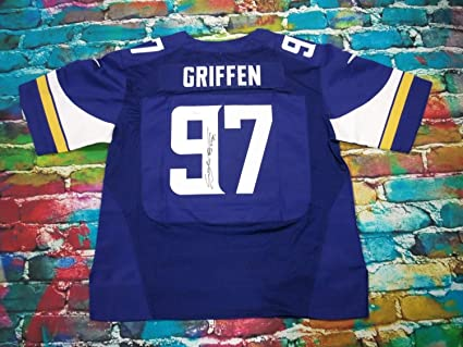 buy popular 02aac da605 Everson Griffen Minnesota Vikings Autographed Signed Jersey ...