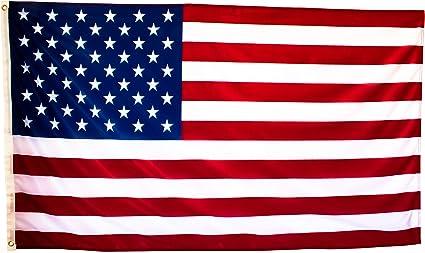 Bandera de Estados Unidos Grande de Tela Fuerte, Bandera Americana ...