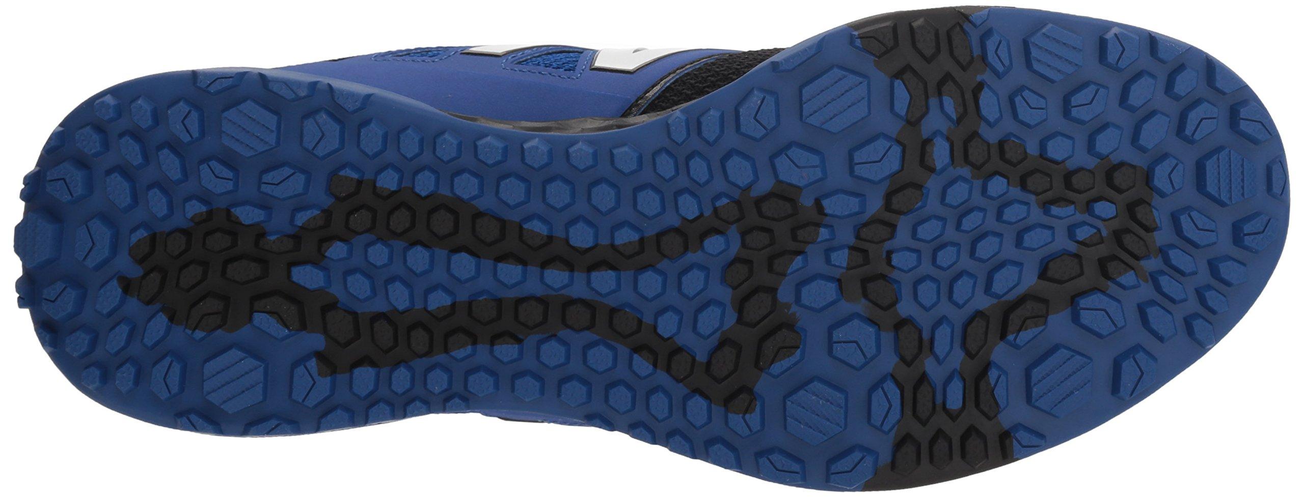 New Balance Men's 3000v4 Turf Baseball Shoe, Black/Blue, 5 D US by New Balance (Image #3)