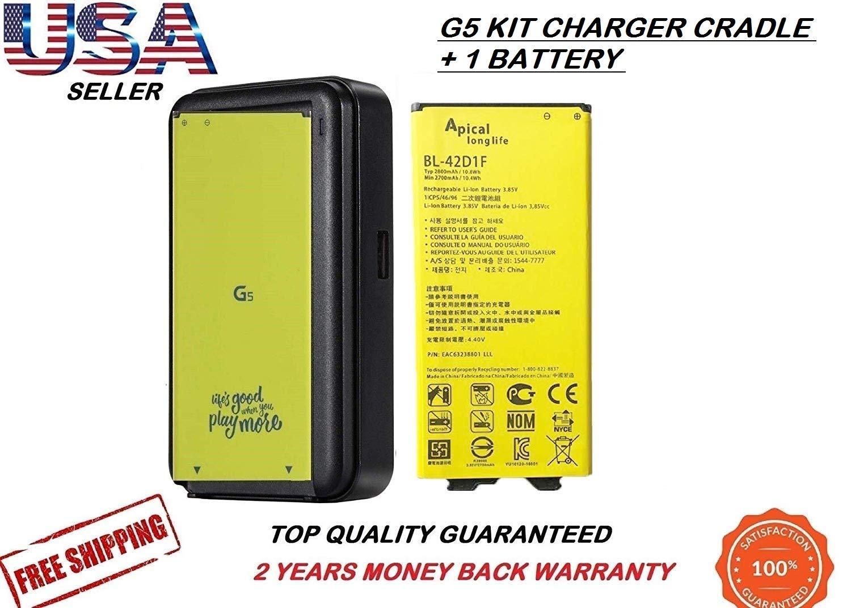 Amazon.com: LG G5 BL-42D1F 2800mAh Standard Replacement ...