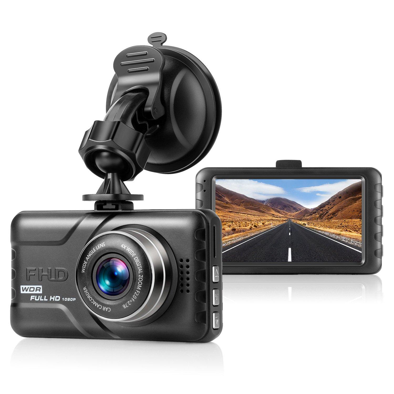 OldShark Auto Kamera (8GB Micro SD-Karte inklusive) HD 1080P Autokamera Video Rekorder 140° Weitwinkel 2.7' LCD DVR Dashcam mit G-Sensor Nachtsicht, Automatische Loop-Zyklus Aufnahme, Bewegungserkennu S29G-D82G-E8GA