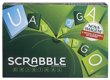Mattel Games Juegos De Mesa Para Ninos Scrabble Original Portugues