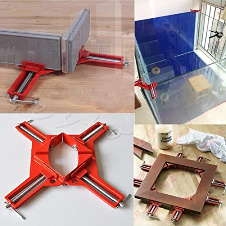 Preamer 4 x 3 90 Degree Corner Right Angle Clamp Woodworking Frame Clamp Picture Holder