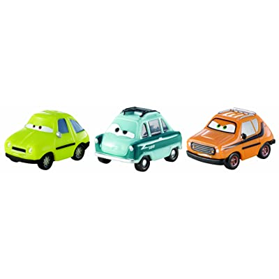 Cars Micro Drifters Acer, Professor Z and Grem Vehicle, 3-Pack: Toys & Games