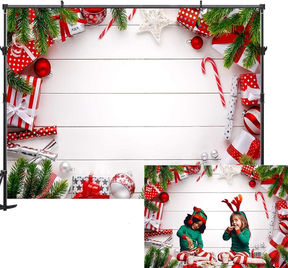 GladsBuy Happy Snowman 5 x 7 Digital Printed Photography Backdrop Christmas Theme Background YHA-402