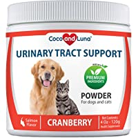 Cranberry for Dogs - Urinary Tract Support, Bladder Infections, Bladder Stones and Dog Incontinence