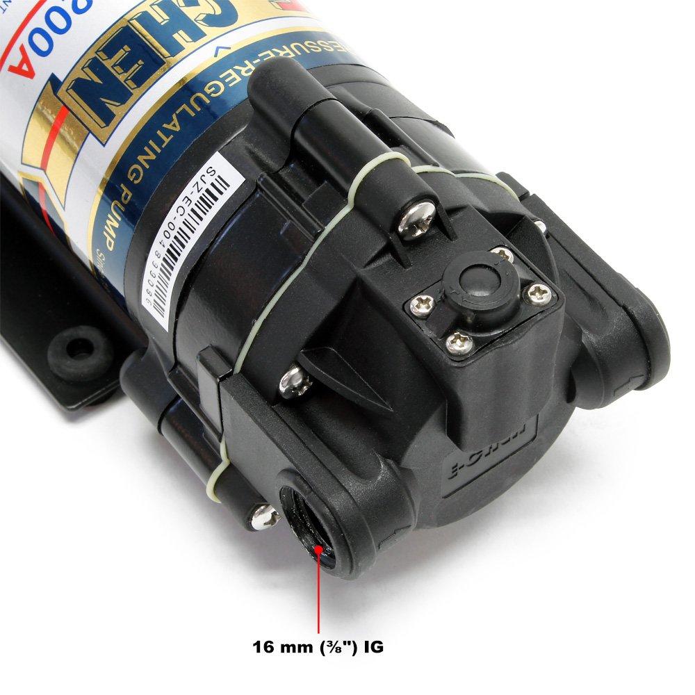 Naturewater Booster Pumpe 400 GPD NW-RO400-E2 E-CHEN 400G