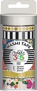 me & my BIG ideas Washi Tape Tube, Botanical Garden