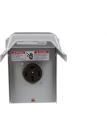 talon lgp1s 50-amp enclosed, outdoor rated, receptacle