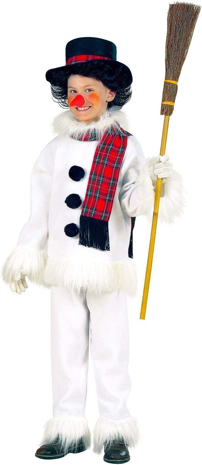 WIDMANN 55737 Disfraz Para Niños Muñeco de nieve, abrigo ...