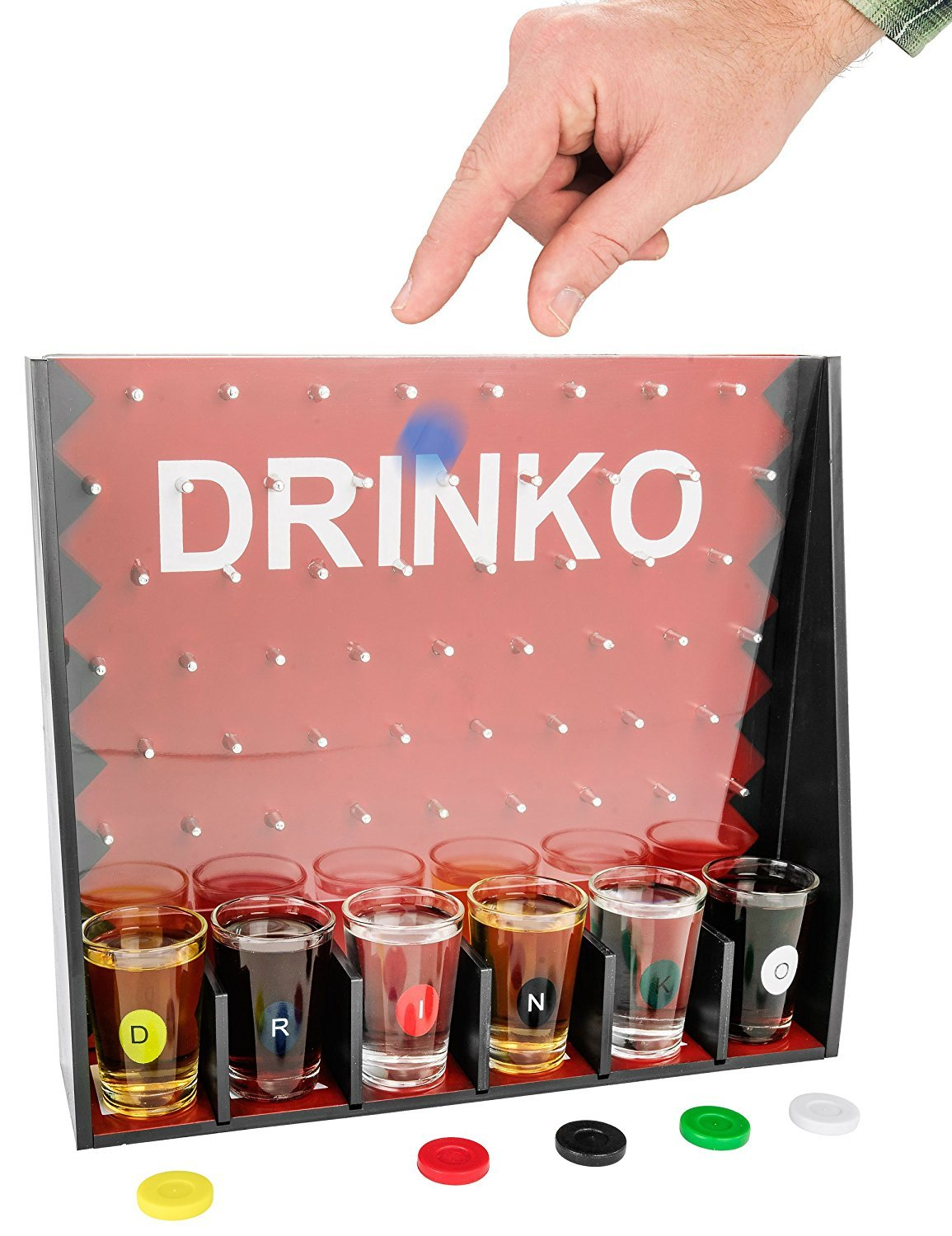 GIFTS INFINITY Drinko Shot Glass Adult Drinking Game Entertaining Party