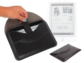 DURAGADGET Funda Pochette Luxe Play piel para libros electrónicos ...