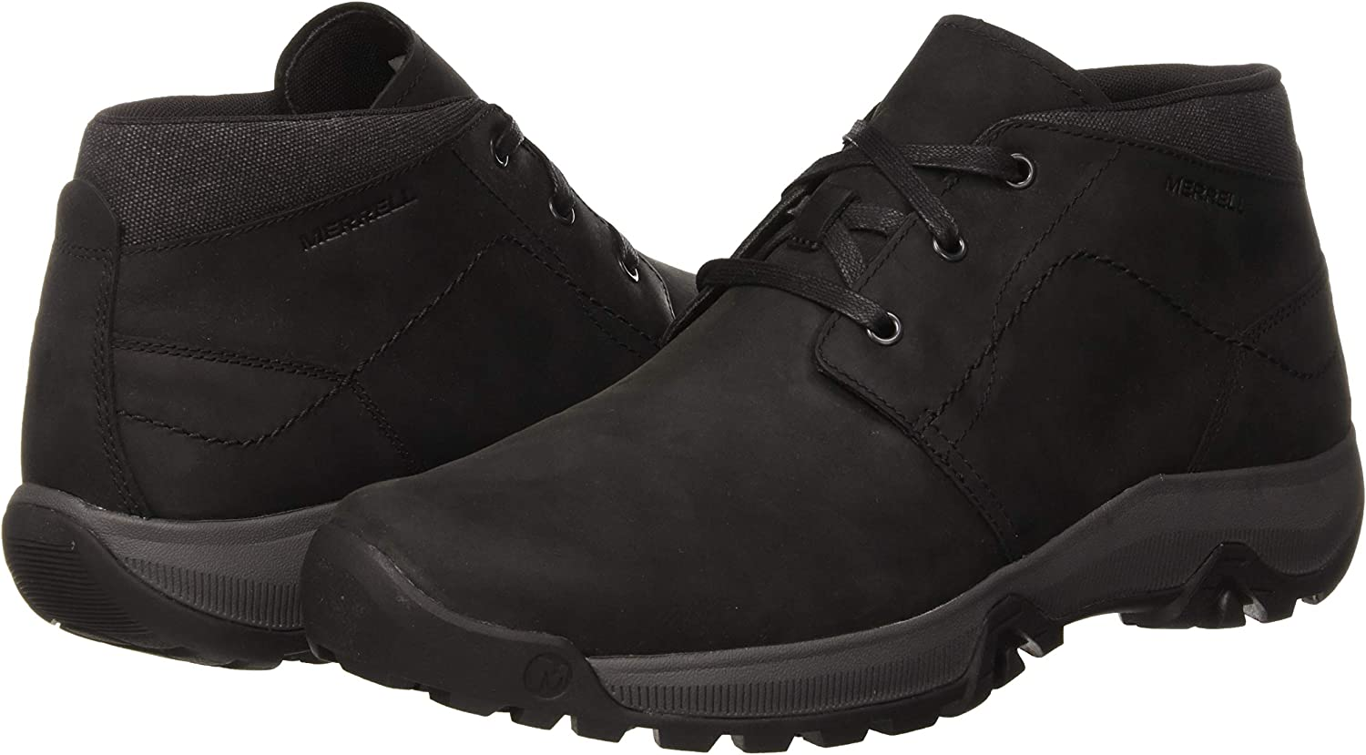 Merrell Anvik Pace Chukka Mens Footwear Walking Shoes Black All Sizes
