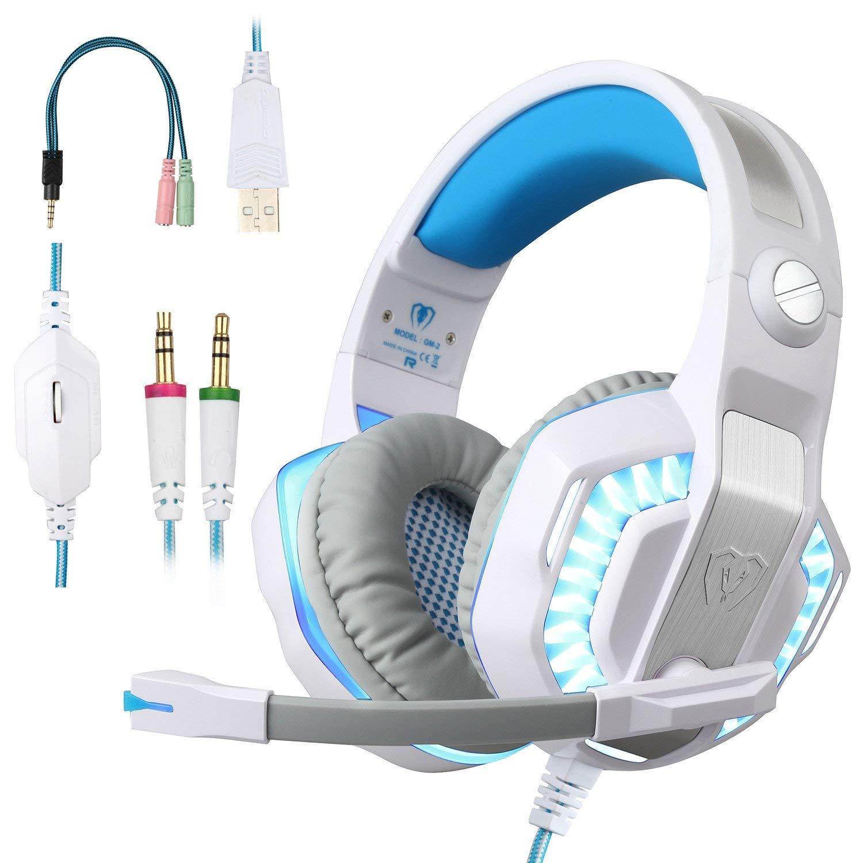 BlueFire Auriculares Gaming PS4, 3.5mm Cancelación De Ruido Cascos Gaming, Juego Auriculares con