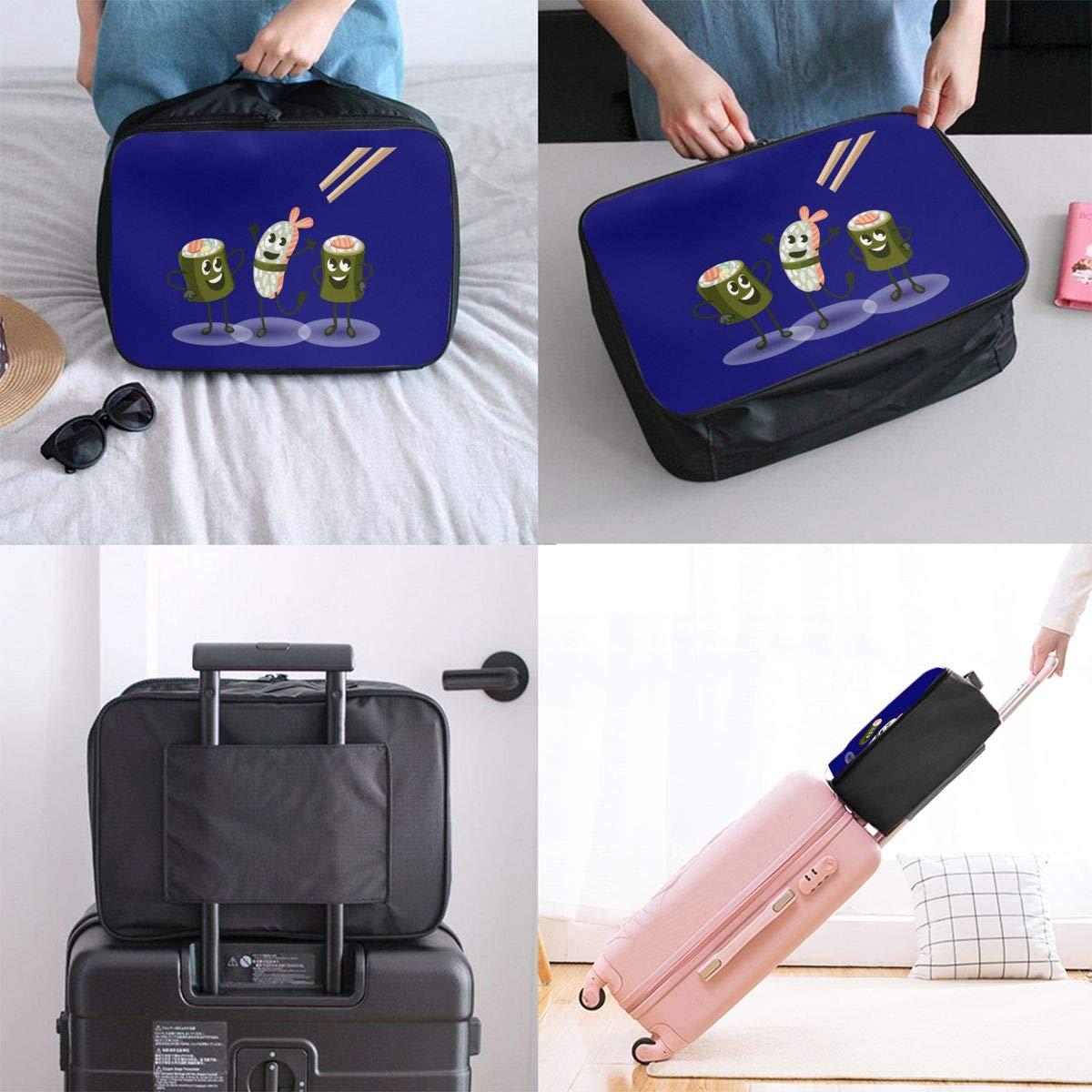 Travel Luggage Duffle Bag Lightweight Portable Handbag Sushi Large Capacity Waterproof Foldable Storage Tote