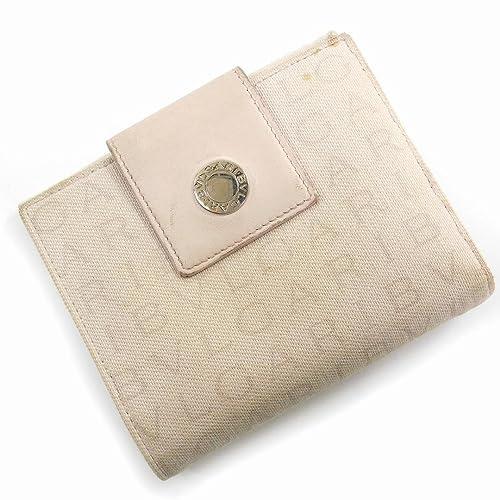 535cea714aa5 [ブルガリ] BVLGARI 二つ折り財布 ロゴマニア キャンバス×レザー X13637 中古