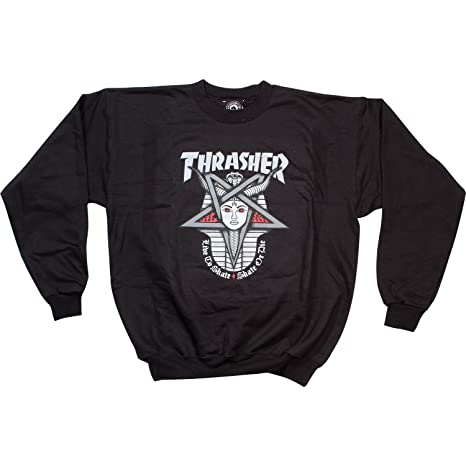 fb8dd2238445 Image Unavailable. Image not available for. Color  Thrasher Goddess Crewneck  ...
