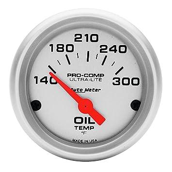 Amazon.com: Auto Meter 4348 Ultra-Lite Electric Temperatura ...