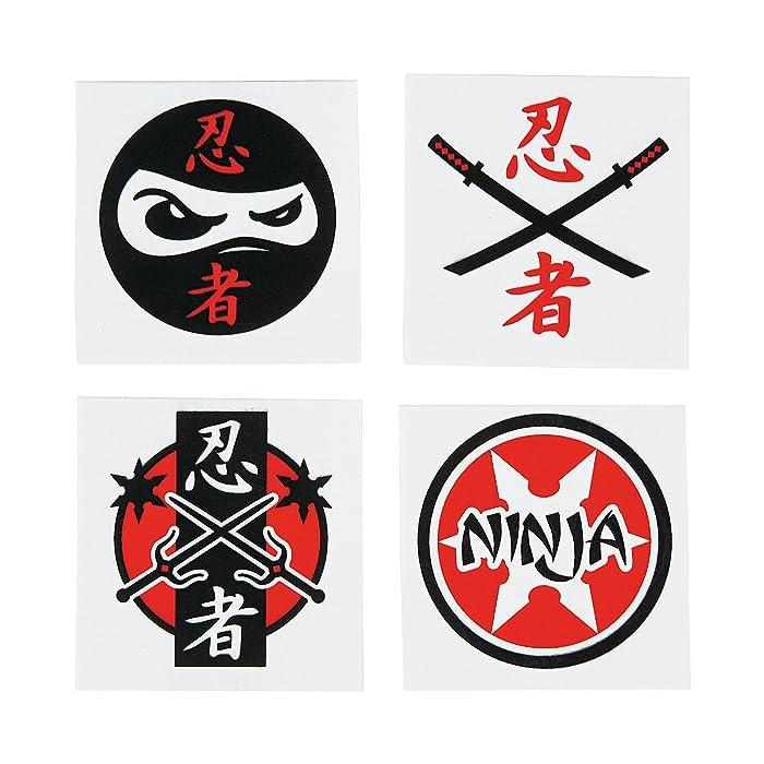 Top 9 Ninja Party Tattoos