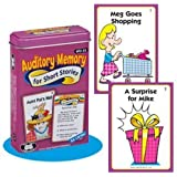 Auditory Memory for Short Stories Fun Deck Cards - Super Duper Educational Learning Toy for Kids