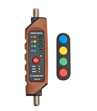 Southwire Tools & Equipment M500CX4 Coax Continuity Tester/Mapper ...
