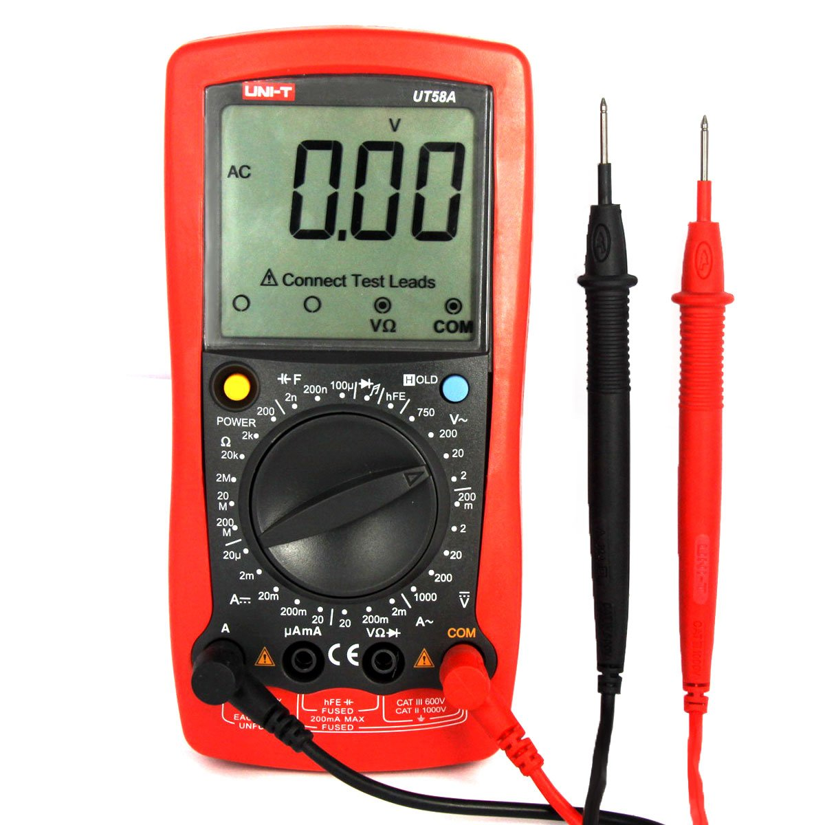 JalonC UNI-T UT120C POCKET Taille Stype Multim/ètre Num/érique de Poche Mini /électrique M/ètres LCD Affichage